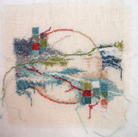 Starborn needlepoint by Connie Pickering Stover