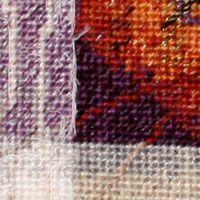 """""""Ra"""" Needlepoint Mixed Media by Connie Pickering Stover"""