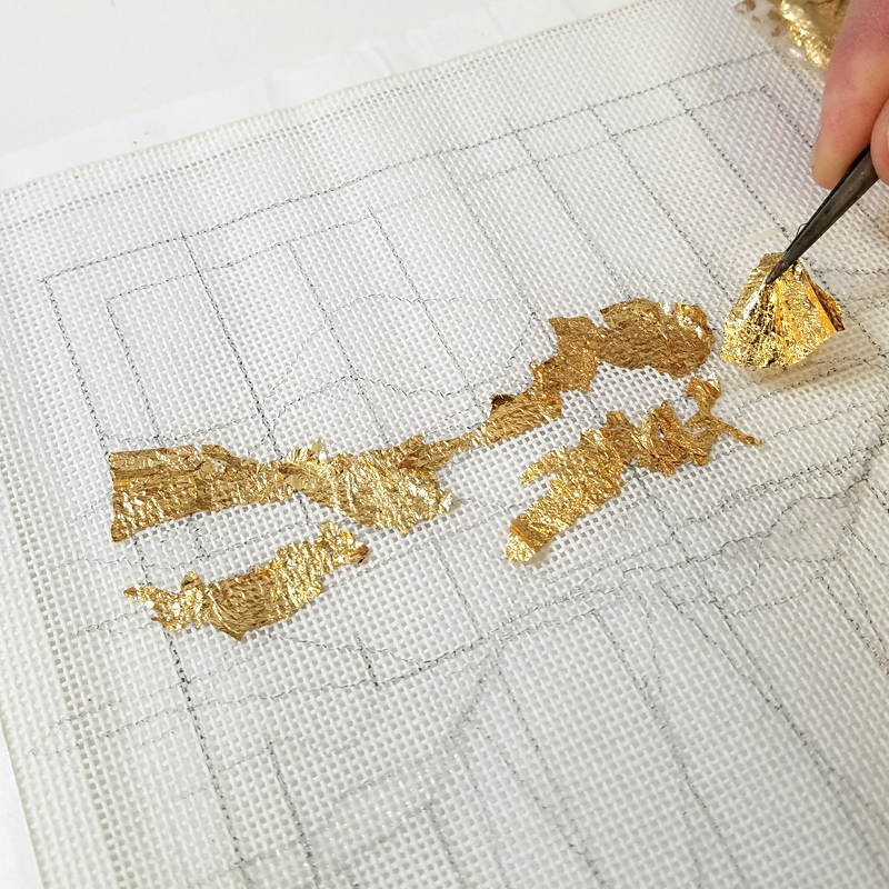 Designing and gilding techniques