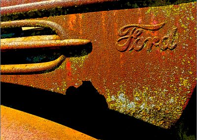 1938 Rusty Ford truck1