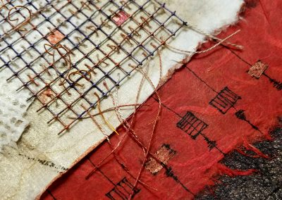 Escape - detail - Connie Stover Mixed Media