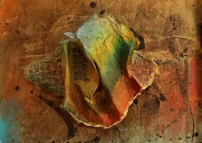 Eclipse detail - Connie Stover Mixed Media