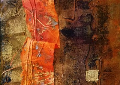 Journey detail - Connie Stover Mixed Media