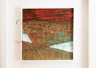 Vineyards - Connie Stover Mixed Media