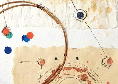 Map on Back of Napkin - detail