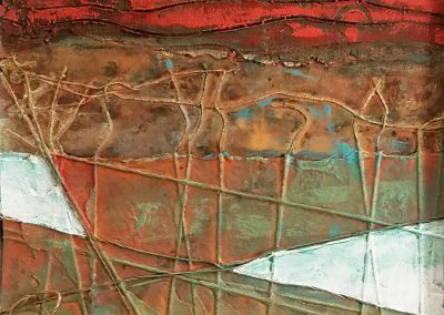 Vineyards detail - Connie Stover Mixed Media
